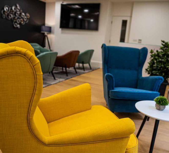 London Cataract Centre lounge