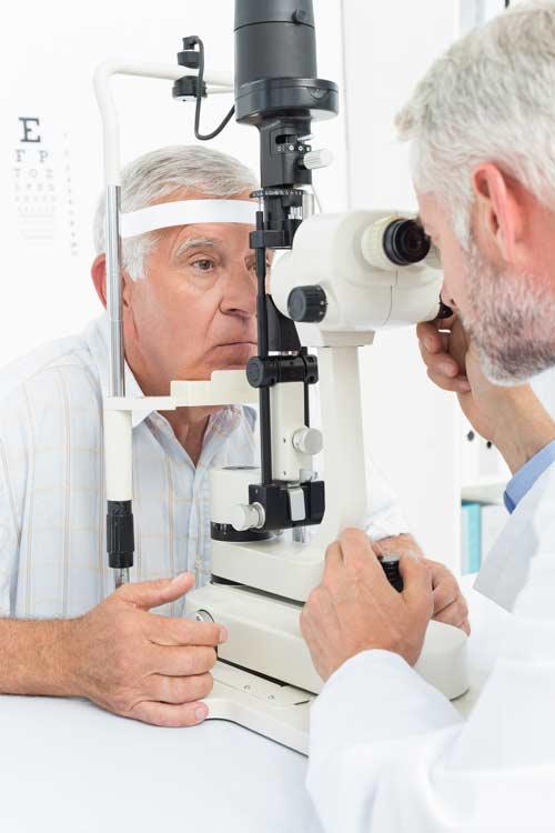cataract surgery preoperative examination